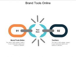 Brand Tools Online Ppt Powerpoint Presentation Gallery Slides Cpb