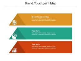 Brand Touchpoint Map Ppt Powerpoint Presentation Slides Summary Cpb