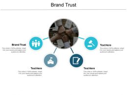 Brand Trust Ppt Powerpoint Presentation Infographic Template Portfolio Cpb