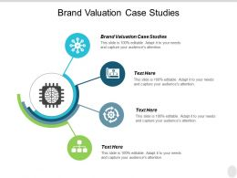 Brand Valuation Case Studies Ppt Powerpoint Presentation Infographics Deck Cpb