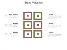 Brand Valuation Ppt Powerpoint Presentation Styles Slideshow Cpb