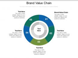 Brand Value Chain Ppt Powerpoint Presentation Outline Display Cpb
