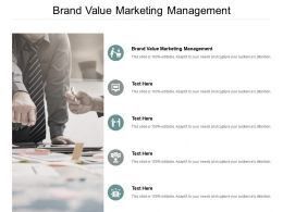Brand Value Marketing Management Ppt Powerpoint Presentation File Master Slide Cpb