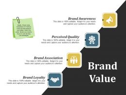 Brand Value Ppt Examples