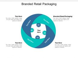 Branded Retail Packaging Ppt Powerpoint Presentation Gallery Styles Cpb
