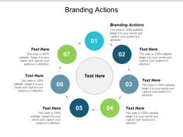 Branding Actions Ppt Powerpoint Presentation Infographics Diagrams Cpb
