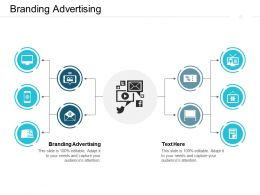 Branding Advertising Ppt Powerpoint Presentation Infographics Diagrams Cpb