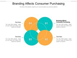Branding Affects Consumer Purchasing Ppt Powerpoint Presentation Portfolio Background Cpb