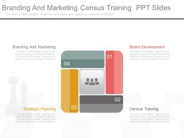 Branding And Marketing Census Training Ppt Slides