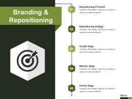 Branding And Repositioning Powerpoint Shapes