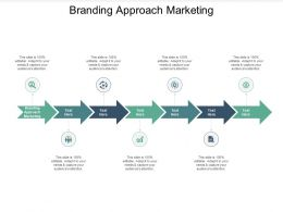 Branding Approach Marketing Ppt Powerpoint Presentation Ideas Slideshow Cpb
