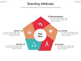 Branding Attributes Ppt Powerpoint Presentation Infographics Background Designs Cpb