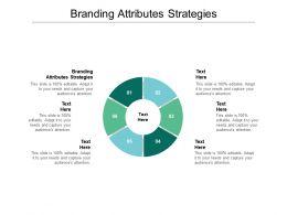 Branding Attributes Strategies Ppt Powerpoint Presentation Visuals Cpb