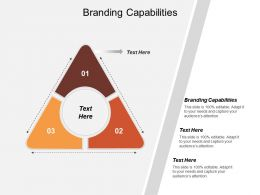 Branding Capabilities Ppt Powerpoint Presentation Model Deck Cpb