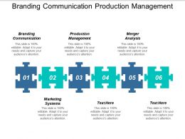 Branding Communication Production Management Merger Analysis Marketing Systems Cpb