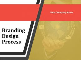 Branding Design Process Powerpoint Presentation Slides