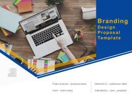 Branding Design Proposal Template Powerpoint Presentation Slides