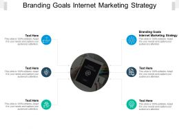 Branding Goals Internet Marketing Strategy Ppt Powerpoint Presentation Ideas Cpb
