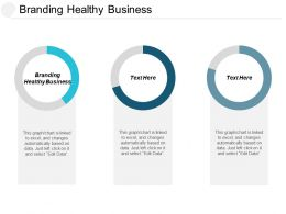 Branding Healthy Business Ppt Powerpoint Presentation File Objects Cpb