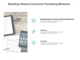 Branding Influence Consumer Purchasing Behaviour Ppt Powerpoint Layouts Cpb