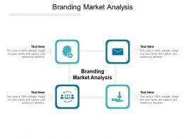 Branding Market Analysis Ppt Powerpoint Presentation Gallery Professional Cpb