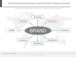 Branding Marketing Strategy Powerpoint Slide Designs Download