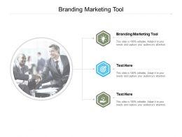 Branding Marketing Tool Ppt Powerpoint Presentation Layouts Visuals Cpb