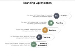 Branding Optimization Ppt Powerpoint Presentation Graphics Cpb