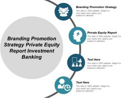 Branding Promotion Strategy Private Equity Report Investment Banking Cpb