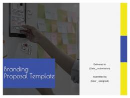 Branding Proposal Template Powerpoint Presentation Slides