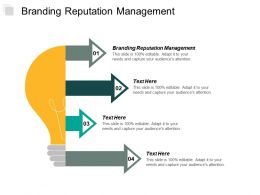 Branding Reputation Management Ppt Powerpoint Presentation Pictures Information Cpb