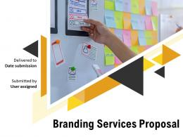 Branding Services Proposal Powerpoint Presentation Slides