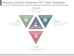Branding Solution Business Ppt Slide Templates