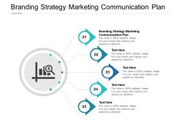 Branding Strategy Marketing Communication Plan Ppt Powerpoint Presentation Styles Cpb