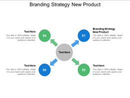 Branding Strategy New Product Ppt Powerpoint Presentation Model Show Cpb