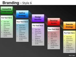 Branding Style 6 Powerpoint Presentation Slides DB