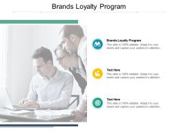 Brands Loyalty Program Ppt Powerpoint Presentation Summary Cpb