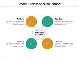 Breach Professional Boundaries Ppt Powerpoint Presentation File Example Introduction Cpb