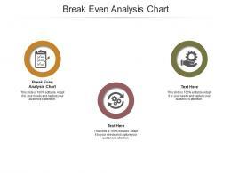 Break Even Analysis Chart Ppt Powerpoint Presentation Portfolio Mockup Cpb