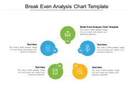 Break Even Analysis Chart Template Ppt Powerpoint Presentation Infographics Cpb
