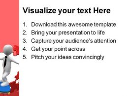 Break Through Business PowerPoint Template 1010  Presentation Themes and Graphics Slide03
