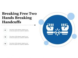 Breaking Free Two Hands Breaking Handcuffs