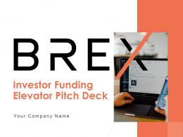 Brex Investor Funding Elevator Pitch Deck Ppt Template