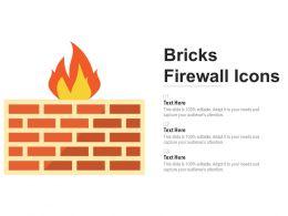 Bricks Firewall Icons