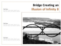 Bridge Creating An Illusion Of Infinity 8