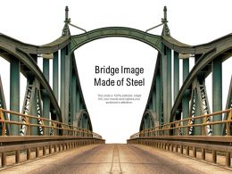 Bridge Image Made Of Steel