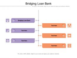 Bridging Loan Bank Ppt Powerpoint Presentation Infographics Influencers Cpb