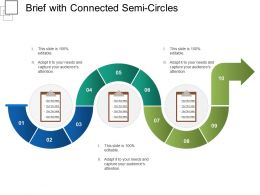 Brief With Connected Semi Circles