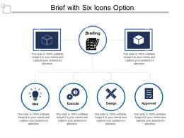 Brief With Six Icons Option