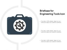 Briefcase For Engineering Tools Icon
